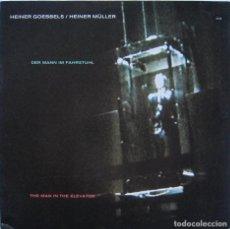 Discos de vinilo: HEINER GOEBBELS / HEINER MÜLLER. THE MAN IN THE ELEVATOR. ECM 1998. Lote 170046024