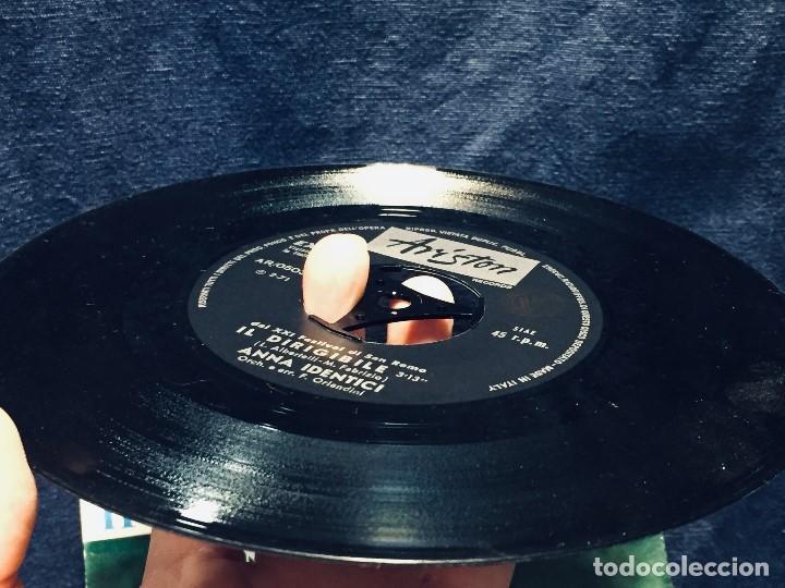 Discos de vinilo: italia anna identici il dirigibile sanremo festival 71 ariston - Foto 3 - 170046780