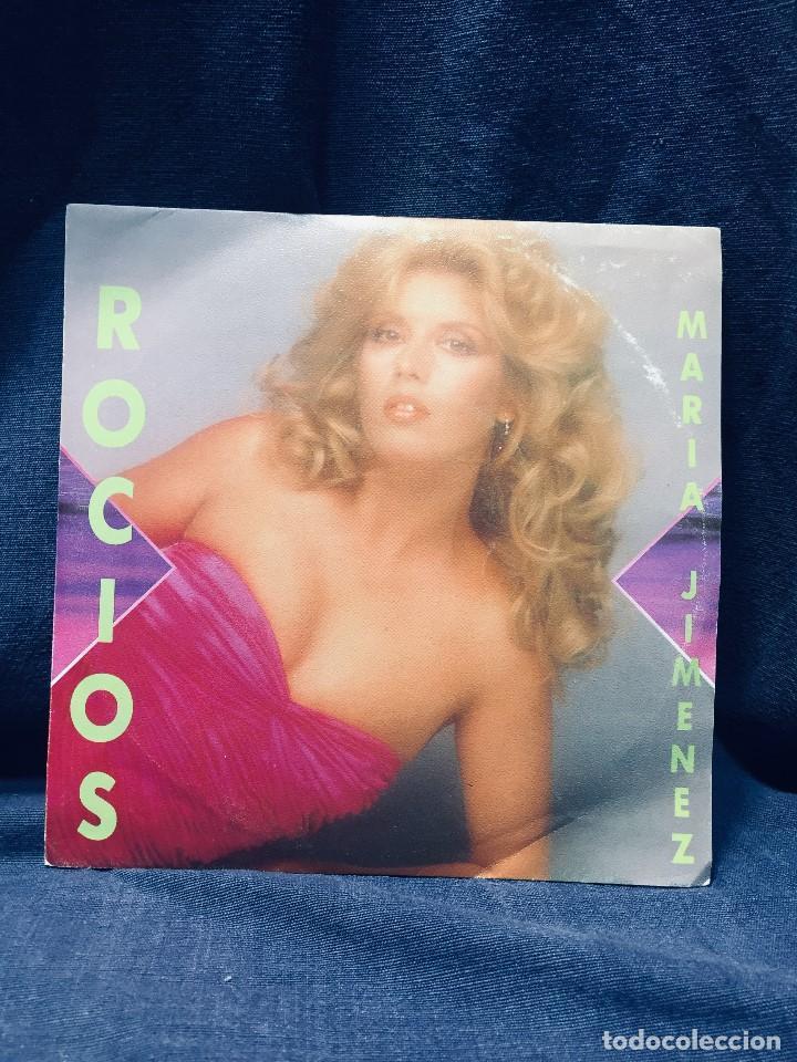 DISCO MARÍA JIMÉNEZ ROCÍOS HACE JESÚS EL CAMINO ROCÍO PERNÍA AÑO 1988 (Música - Discos de Vinilo - Maxi Singles - Solistas Españoles de los 70 a la actualidad)