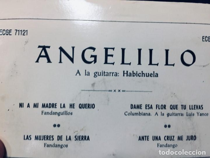 Discos de vinilo: disco angelito guitarra habichuela fandangos columbia s xx - Foto 5 - 170070040