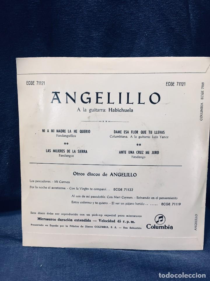 Discos de vinilo: disco angelito guitarra habichuela fandangos columbia s xx - Foto 6 - 170070040