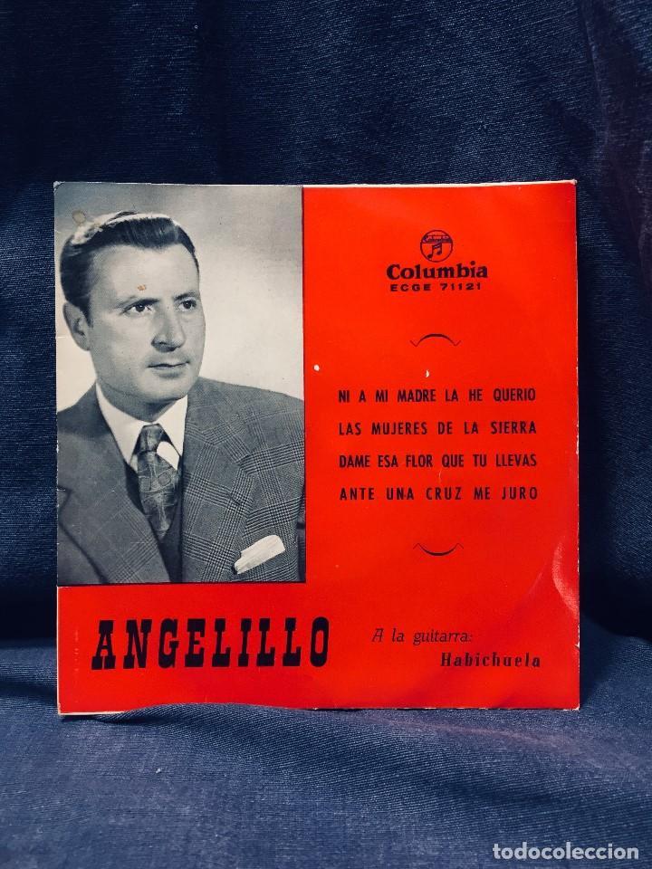 DISCO ANGELITO GUITARRA HABICHUELA FANDANGOS COLUMBIA S XX (Música - Discos - Singles Vinilo - Flamenco, Canción española y Cuplé)