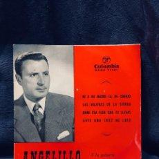 Discos de vinilo: DISCO ANGELITO GUITARRA HABICHUELA FANDANGOS COLUMBIA S XX. Lote 170070040