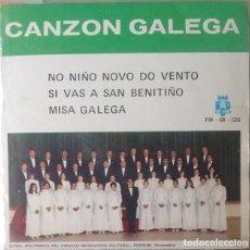 Discos de vinilo: EP - CIRCULO RECREATIVO CULTURAL DE PORRIÑO - NO NIÑO NOVO DO VENTO / SI VAS A SAN BENITIÑO +1. Lote 170072992