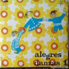 Discos de vinilo: EP - HENRI VEYSSEYRE, ORQUESTA - ALEGRES DANZAS 1 - ALEGRES DANZAS 1 - 1969. Lote 170073436