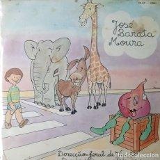 Discos de vinilo: EP - JOSE BARATA MOURA - CANTIGA DO PASSEIO / PEAO VERDE OU ENCARNADO / +2. Lote 170073444