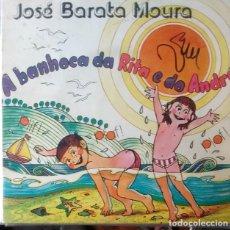 Discos de vinilo: EP - JOSE BARATA MOURA - A BANHOCA DA RITA E DO ANDRE / TONINO DE LAMIRE / A BANDA DO M. PINGUIM +1. Lote 170073448
