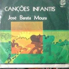 Discos de vinilo: EP - JOSE BARATA MOURA - CANÇOES INFANTIS: OS NUMEROS / AS CORES / AS NOTAS / AS LETRAS. Lote 170073456