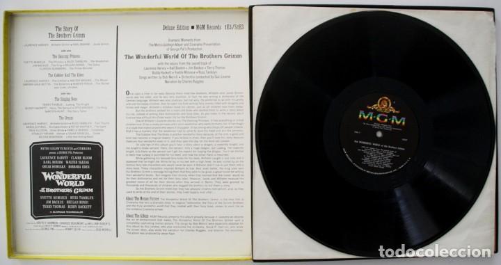 Discos de vinilo: EL MARAVILLOSO MUNDO DE LOS HERMANOS GRIMM. BOB MERRYLL. GEORGE PAL - Foto 2 - 170080816