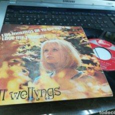 Discos de vinilo: BILL WELLYNGS SINGLE LOS MOLINOS DE TU ESPÍRITU ESPAÑA 1969. Lote 170083064