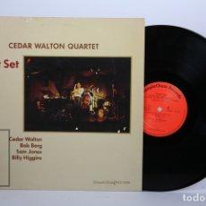 Discos de vinilo: DISCO LP DE VINILO - CEDAR WALTON QUARTET / FIRST SET - STEEPLE CHASE RECORDS - AÑO 1983. Lote 170088044