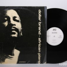 Discos de vinilo: DISCO LP DE VINILO - DOLLAR BRAND / AFRICAN PIANO - JAPO RECORDS - AÑO 1973 - MADE IN GEMANY. Lote 170088132