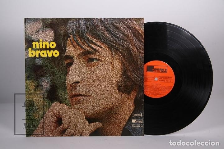 DISCO LP DE VINILO - NINO BRAVO / UN BESO Y UNA FLOR - CANTABILE - AÑO 1973 (Música - Discos - LP Vinilo - Solistas Españoles de los 70 a la actualidad)