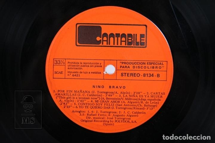 Discos de vinilo: Disco LP De Vinilo - Nino Bravo / Un Beso y Una Flor - Cantabile - Año 1973 - Foto 2 - 170088198
