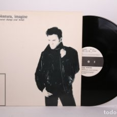 Discos de vinilo: DISCO MAXI SINGLE DE VINILO - FRED VENTURA / IMAGINE - DON DISCO - AÑO 1988. Lote 170088537