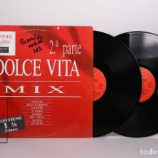 Discos de vinilo: DOBLE DISCO LP DE VINILO - DOLCE VITA MIX 2ª PARTE - MAX MUSIC- AÑO 1988. Lote 170088593