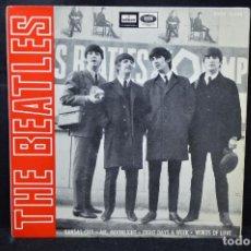 Discos de vinilo: THE BEATLES - KANSAS CITY +3 - EP. Lote 170091324