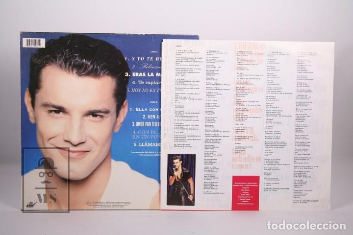 Discos de vinilo: Disco LP De Vinilo - Jesus Vazquez / A Dos Milímetros Escasos de tu Boca - Ariola 1993 - Autográfo - Foto 4 - 170091528