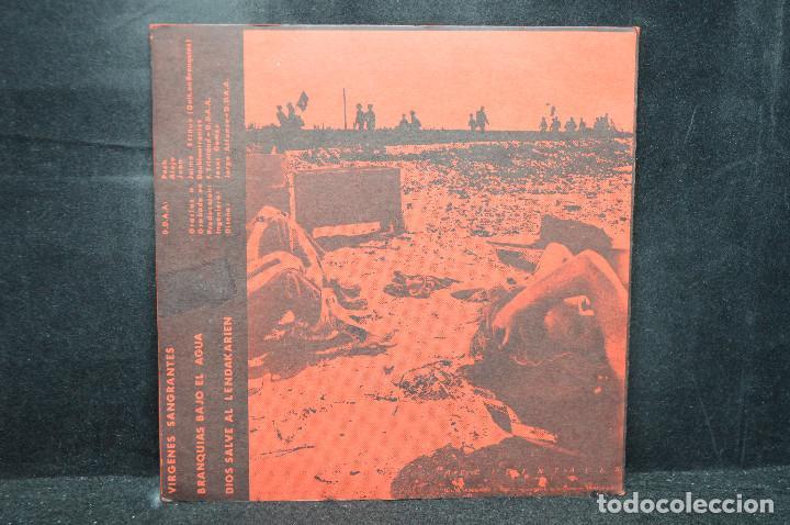 Discos de vinilo: DERRIBOS ARIAS - VIRGENES SANGRANTES +2 - EP - Foto 2 - 170092260