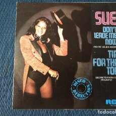 Dischi in vinile: SUE* ?– TIP FOR THE TOP / DON'T LEAVE ME NOW SELLO: RCA VICTOR ?– PB-4522 FORMATO: VINYL, 7 . Lote 170097248