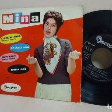 Discos de vinilo: MINA -CHIP CHAP - EP DE 4 CANCIONES --DISCOPHON - BCN-AÑO 1960 . Lote 170102336