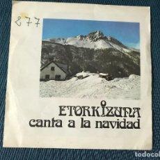Disques de vinyle: ETORKIZUNA CANTA A LA NAVIDAD. Lote 170102948