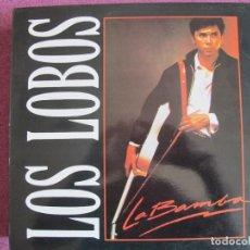 Discos de vinilo: MAXI - LOS LOBOS - LA BAMBA / CHARLENA / RIP IT UP (SPAIN, LONDON RECORDS 1987). Lote 170103700