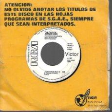 Discos de vinilo: SINGLE VINILO VICTOR 1977. Lote 170106648