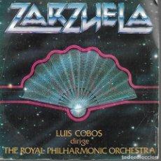 Discos de vinilo: SINGLE VINILO ZARZUELA LUIS COBOS 1982. Lote 170107680