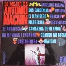 Dischi in vinile: LP - ANTONIO MACHIN - LO MEJOR DE (SPAIN, DISCOPHON 1967). Lote 248446250