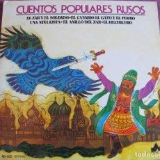 Discos de vinilo: LP - CUENTOS POPULARES RUSOS - VARIOS (SPAIN, DIAL DISCOS 1977). Lote 170110048