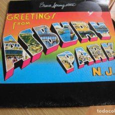 Discos de vinilo: BRUCE SPRINGSTEEN- GREETINGS FROM ASBURY PARK. Lote 170110300