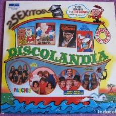Discos de vinilo: LP - DISCOLANDIA, 25 EXITOS - VARIOS (DOBLE DISCO, SPAIN, DISCOS BELTER 1980). Lote 170110336