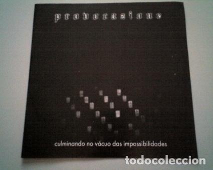 EP - PUNK H.C. - PROVOCAZIONE (CULMINANDO NO VÁCUO DAS IMPOSSIBILIDADES) - 2000 - IMPORTACIÓN BRASIL (Música - Discos de Vinilo - EPs - Punk - Hard Core)
