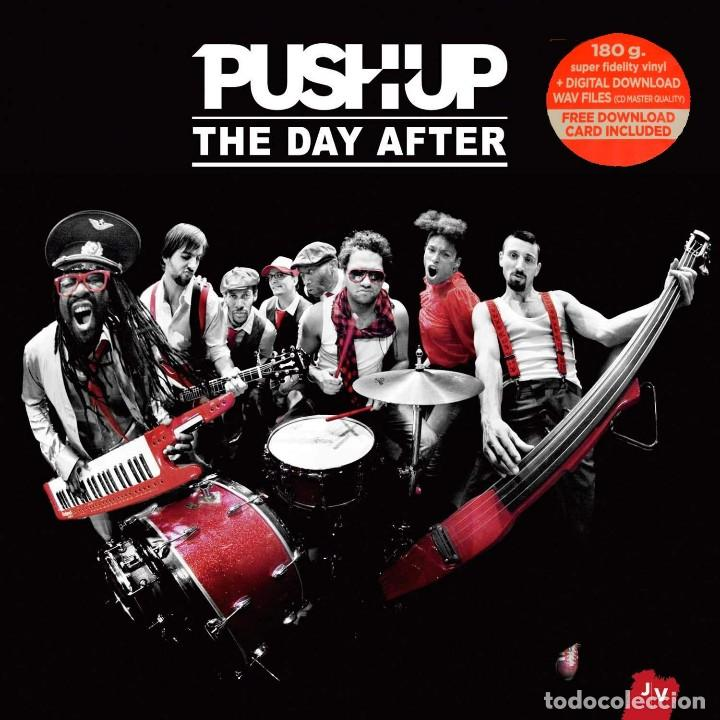 PUSH UP! * 2LP 180G * THE DAY AFTER * TARJETA DESCARGA * GATEFOLD * PRECINTADO * RARE (Música - Discos de Vinilo - EPs - Pop - Rock Extranjero de los 90 a la actualidad)
