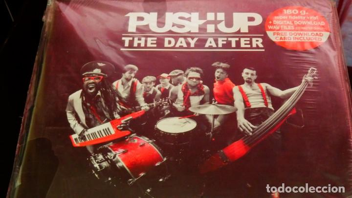 Discos de vinilo: Push Up! * 2LP 180g * The Day After * Tarjeta descarga * Gatefold * Precintado * rare - Foto 3 - 170137616