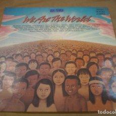 Discos de vinilo: WE ARE THE WORLD. MAXI SINGLE 45RPM. CBS. Lote 170151784