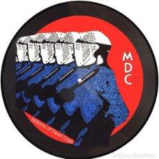 Discos de vinilo: M.D.C. - MILLIONS OF DEAD COPS - MILLIONS OF DEAD COPS - PICTURE DISC. Lote 170158324