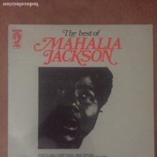 Discos de vinilo: THE BEST OF MAHALIA JACKSON- LP DISCOPHON 1972. Lote 170165392