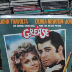 Discos de vinilo: GREASE ORIGINAL SOUNDTRACK JOHN TRAVOLTA OLIVIA NEWTON JOHN BANDA SONORA. Lote 170166086