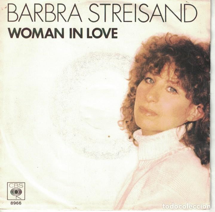 BARBRA STREISAND - WOMAN IN LOVE / RUN WILD (SINGLE HOLANDES, CBS 1980) (Música - Discos - Singles Vinilo - Pop - Rock - Extranjero de los 70)