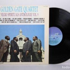 Discos de vinilo: DISCO LP DE VINILO - GOLDEN GATE QUARTET / NEGRO SPIRITUALS ANTHOLOGIE VOL. 2 - COLUMBIA 1978 FRANCE. Lote 170173708