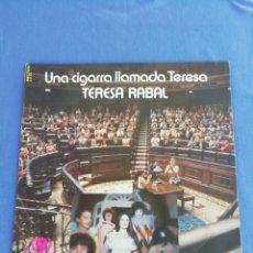 Discos de vinilo: TERESA RABAL. UNA CIGARRA LLAMADA TERESA.. Lote 170187598