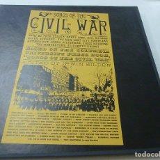 Discos de vinilo: FOLKWAY'S RECORDS-SONGS OF THE CIVIL WAR (CANCIONES DE LA GUERRA CIVIL AMERICANA) PETER SEEGER.-2 LP. Lote 170203868