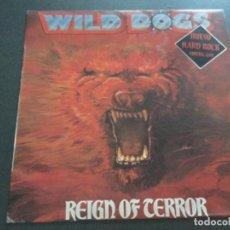Discos de vinilo: WILD DOGS- REIGN OF TERROR . Lote 170204844
