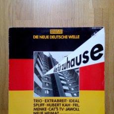 Discos de vinilo: ALLES FÜR ZUHAUSE - DIE NEUE DEUTSCHE WELLE, GEMA, 1982. GERMANY.. Lote 170205173