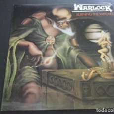 Discos de vinilo: WARLOCK- BURNING THE WITCHES. Lote 170205416