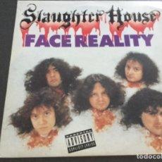 Discos de vinilo: SLAUGHTERHOUSE- FACE REALITY . Lote 170207276