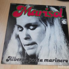 Discos de vinilo: MARISOL, SG, ALBERTI, POETA MARINERO + 1, AÑO 1978. Lote 170210044