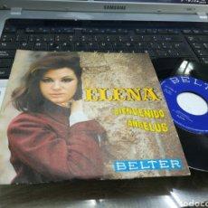 Discos de vinilo: ELENA SINGLE BIENVENIDO 1970. Lote 170214000